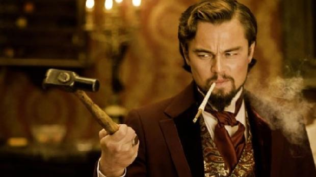 <p>Leonardo DiCaprio em Django Livre 2012</p>