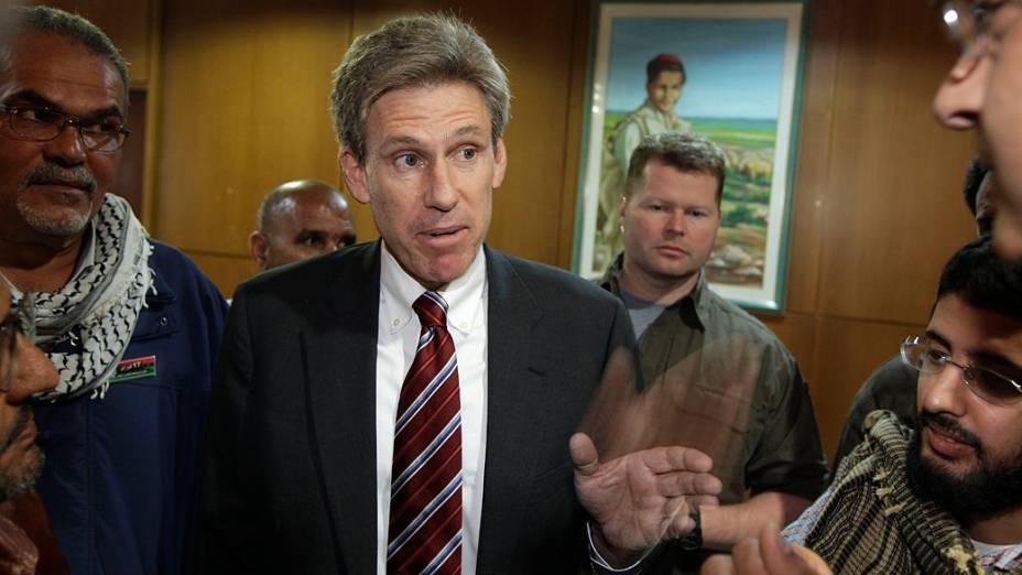 O diplomata americano J. Christopher Stevens