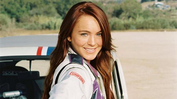 Lindsay Lohan no filme Herbie: Meu Fusca Turbinado, de 2005