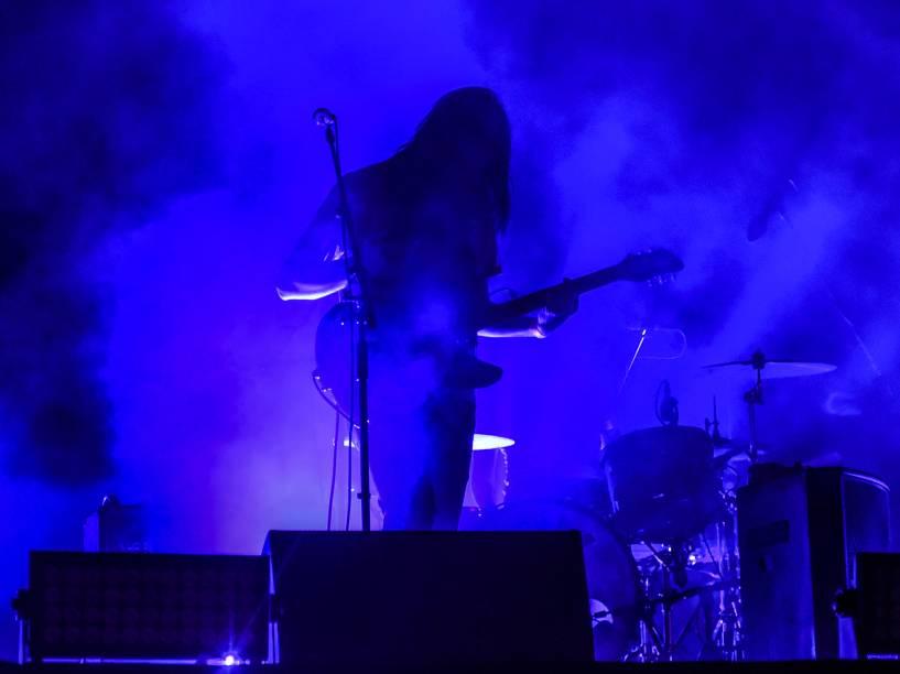 Show da banda Tame Impala durante o primeiro dia do Lollapalooza 2016, em São Paulo