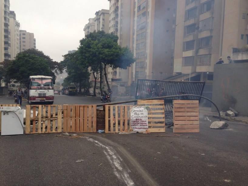 #NoHayPaso em Lomas del Ávila, Zona Leste de Caracas