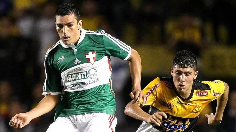Palmeiras, de Lúcio, estreou novo terceiro uniforme neste domingo