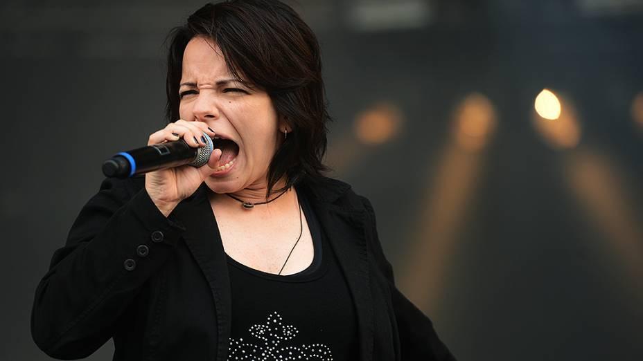 Banda Ludov se apresenta no segundo dia do festival Lollapalloza, em São Paulo