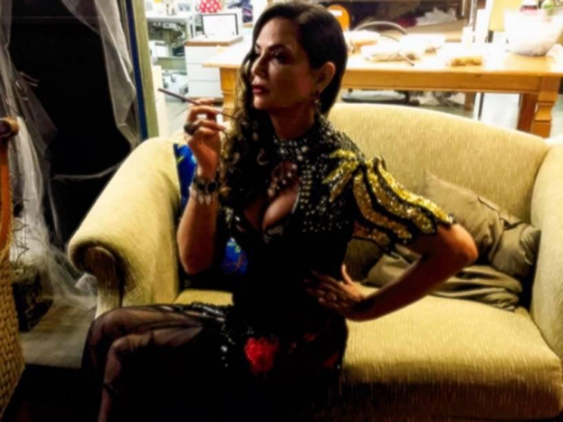 Luiza Brunet vai viver Madá, personagem que tem um caso antigo com Afrânio (Antônio Fagundes)