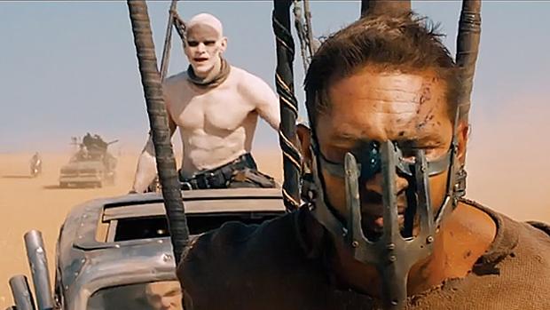 O ator Tom Hardy na pele de Max, papel que já foi de Mel Gibson na franquia Mad Max