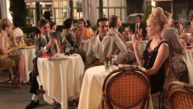 Betty Draper (January Jones) no seriado Mad Men