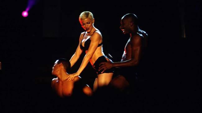 Madonna durante a turnê