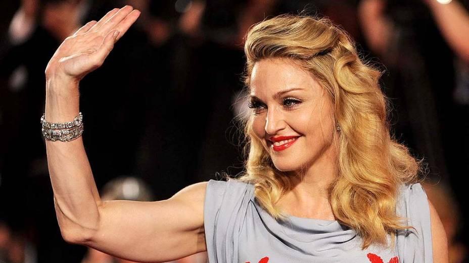 """Madonna durante o """"68º Festival de Cinema de Veneza"""" em 2011"""
