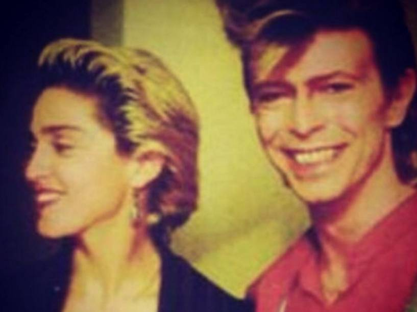 Madonna e David Bowie
