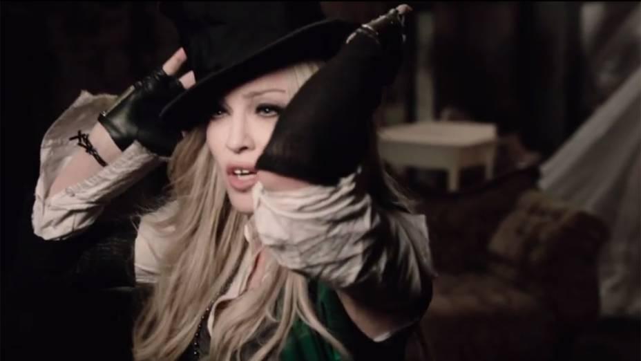 Madonna no clipe Ghosttown