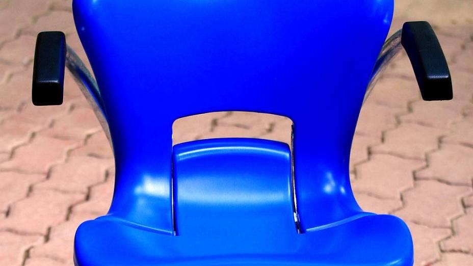 Maracanã: detalhe da cadeira especial