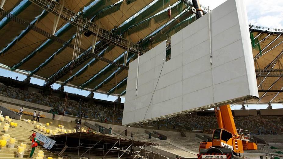 Maracanã: estádio terá quatro telões