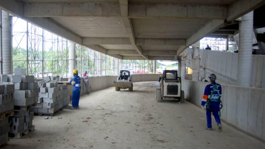 Maracanã: quatro novas rampas de acesso têm oito metros de largura