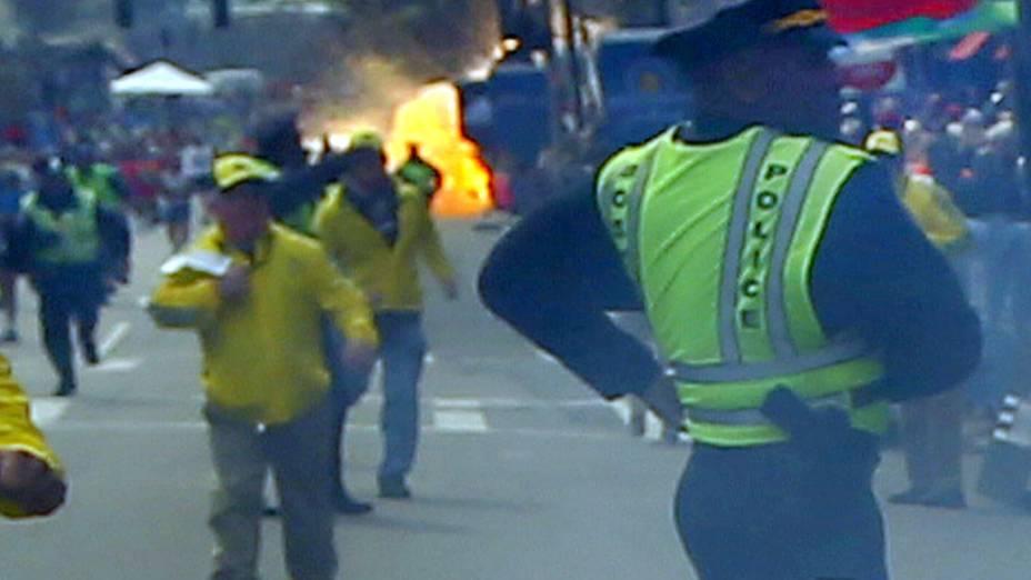 Segunda explosão na maratona de Boston