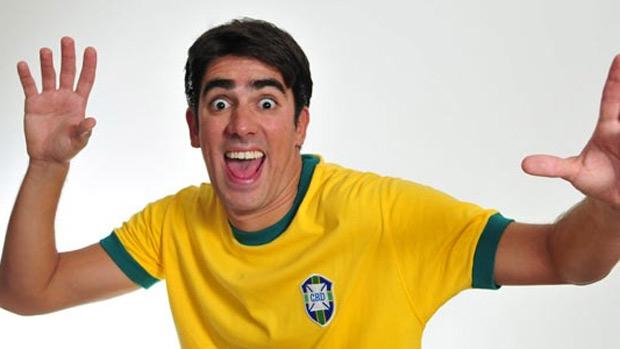 O humorista Marcelo Adnet, da MTV