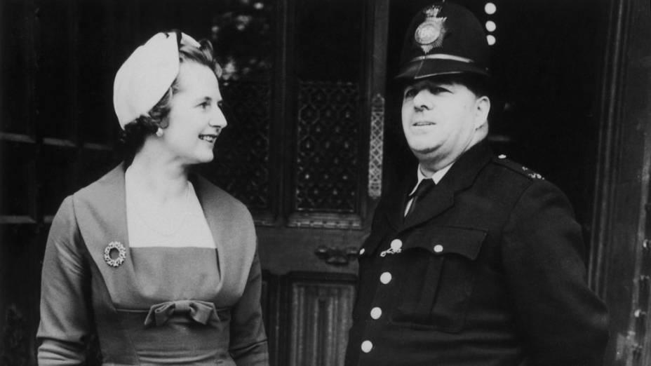 Margaret como membro do Parlamento pela região de Finchley, 1959