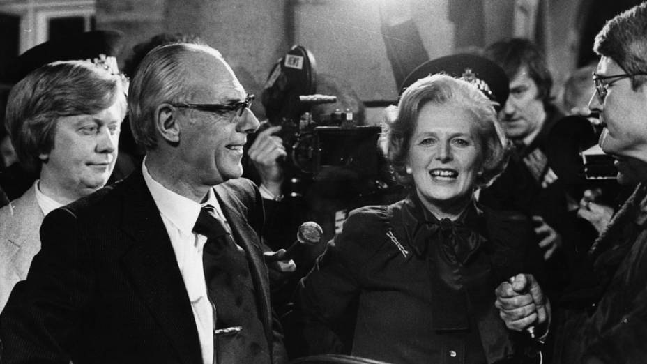 Margaret Thatcher eleita primeira-ministra pela primeira vez, 1979