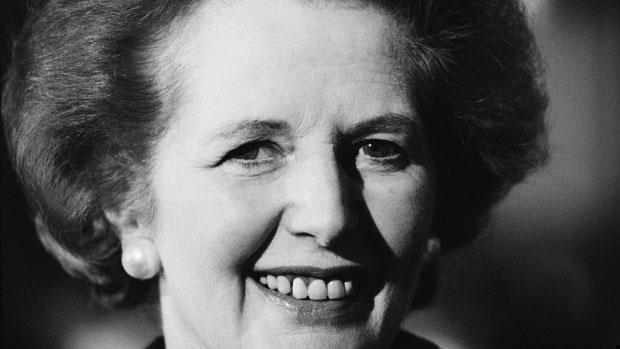 Margaret Thatcher em 1990