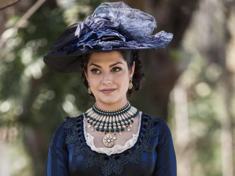 Maria Isabel (Thais Fersoza), vai ser uma das vilãs de Escrava Mãe