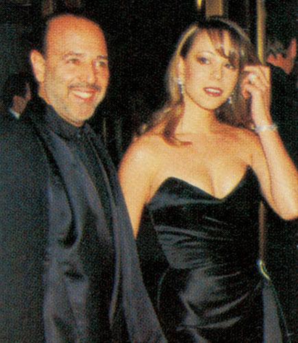 Com Tommy Monttola, seu ex-marido e um dos principais responsáveis por seus primeiros sucessos.