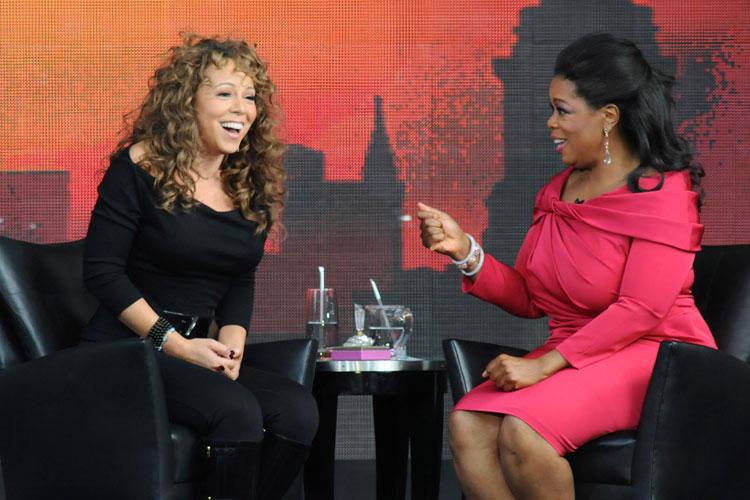 Em 2009, no programa da apresentadora Oprah Winfrey.