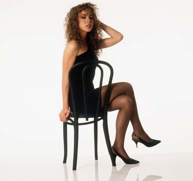 Mariah Carey era uma garota magrinha em 1990, quando começou a carreira