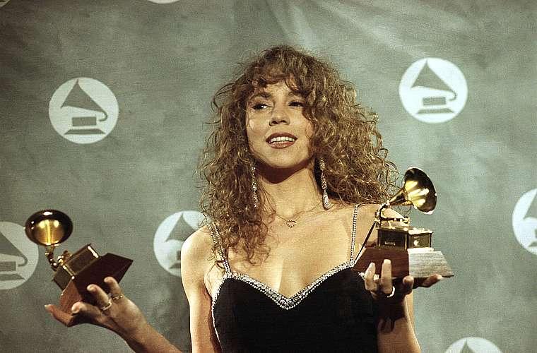 Em 1991, quando venceu dois prêmios no Grammy � artista revelação e canção do ano, com <em>Vision Love</em>.