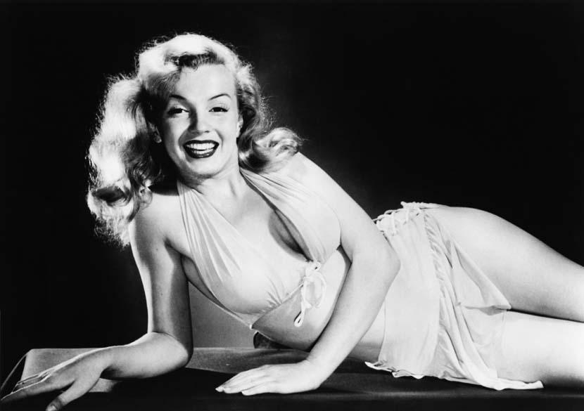 Marilyn Monroe na década de 50