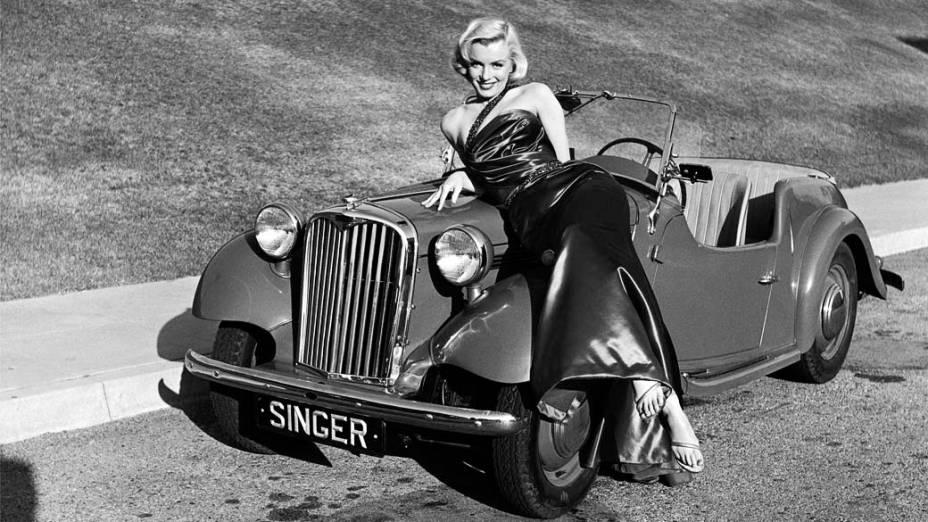 Marilyn Monroe em retrato para o filme How to Marry a Millionaire em 1953