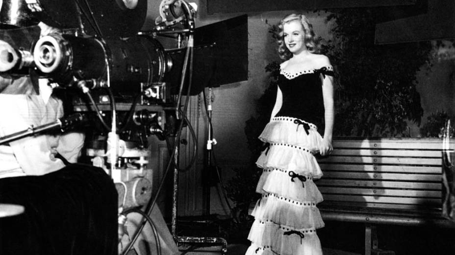 Marilyn Monroe em teste de filmagem em 1946