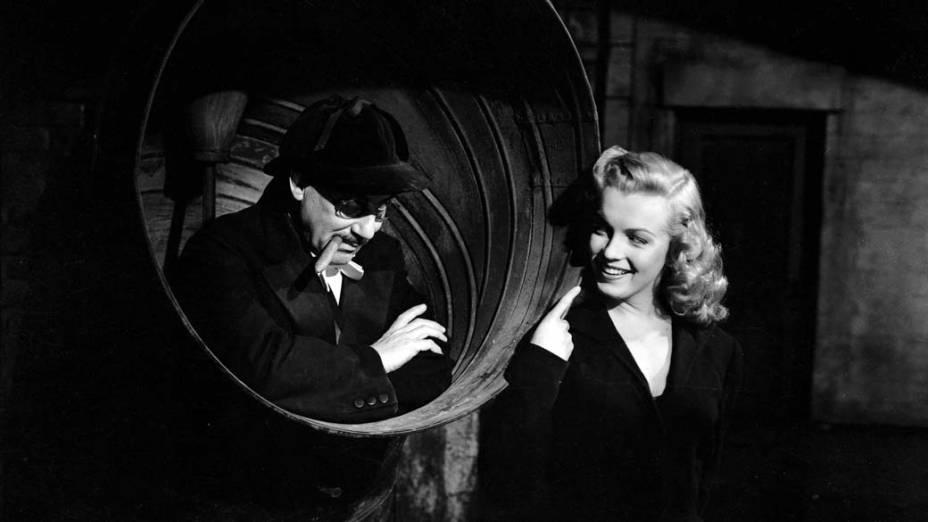 Marilyn Monroe em cena do filme Love Happy em 1949