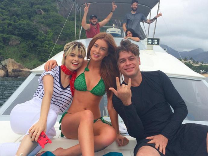 Marina Ruy Barbosa grava Totalmente Demais