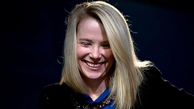 Marissa Mayer, presidente do Yahoo, em entrevista no Fórum Econômico Mundial