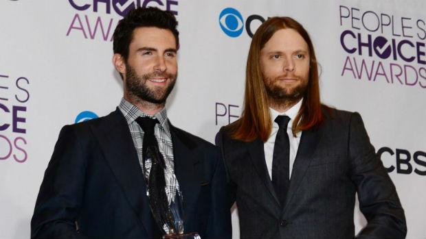 Membros da banda Maroon 5