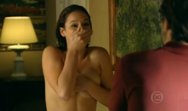 A atriz Bruna Marquezine em cena da novela Em Família