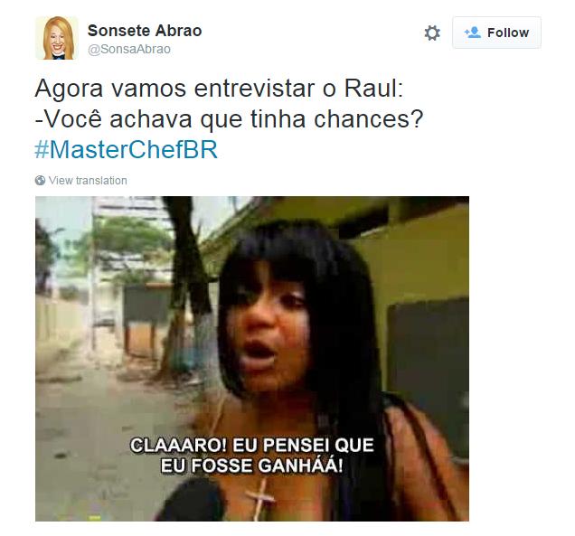 Raul tinha chances?