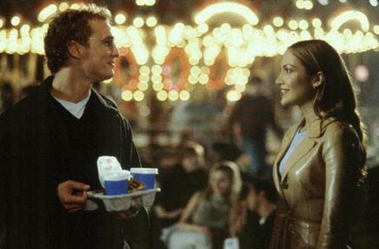 Em 2001, atuando com Jennifer Lopez no filme <em>O Casamento dos Meus Sonhos</em>, de Adam Shankman.
