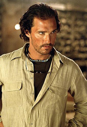 Em 2005, McConaughey protagonizou o longa <em>Sahara de Breck Eisner.</em>