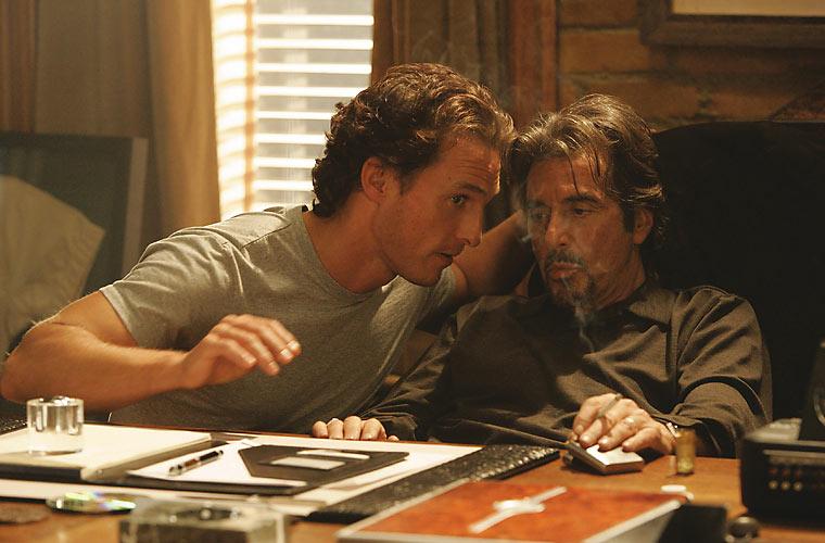 Com Al Pacino em <em>Tudo Por Dinheiro</em>, de DJ Caruso, em 2005.
