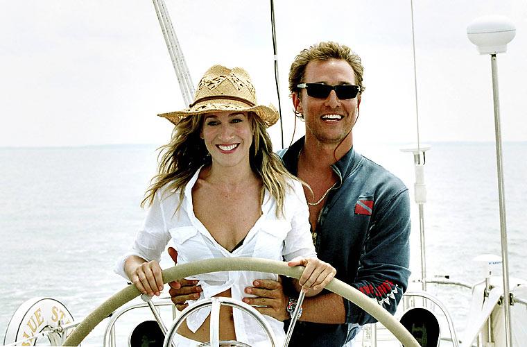 Em <em>Armações do Amor</em>, de Tom Dey, contracenou com Sarah Jessica Parker.