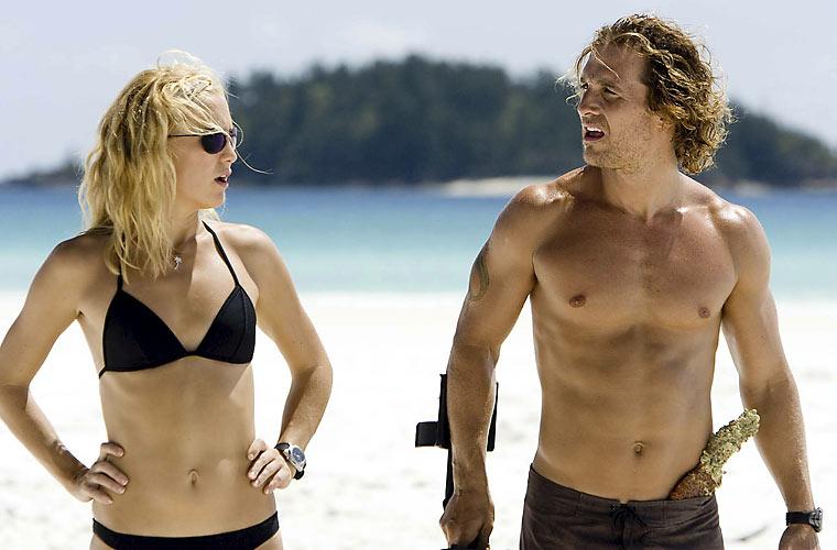 Com Kate Hudson no longa <em>Um Amor de Tesouro, de Andy Tennant.</em>