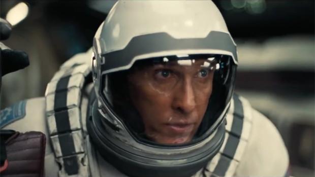 Matthew McConaughey em cena de Interestelar