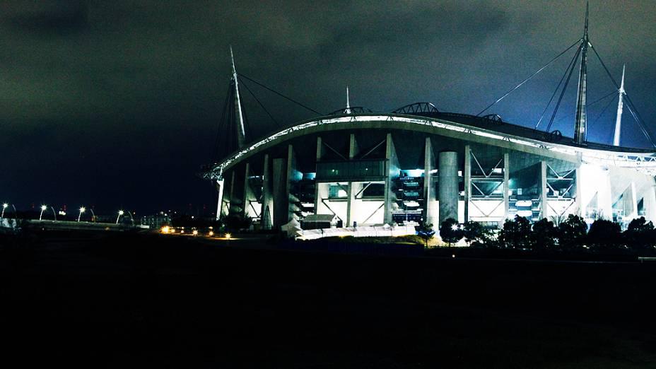 Vista do Toyota Stadium, antes da partida entre Corinthians e o Al Ahly pela semifinal do Mundial de Clubes da Fifa