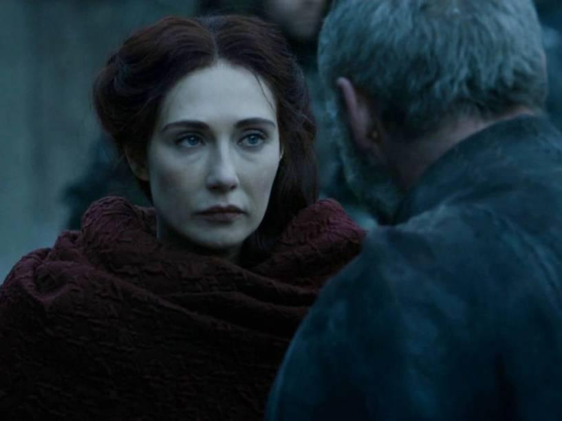 Melisandre (Carice van Houten) em Game of Thrones