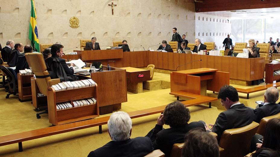 STF retoma sessão plenária com o voto do revisor, o ministro Ricardo Lewandowski