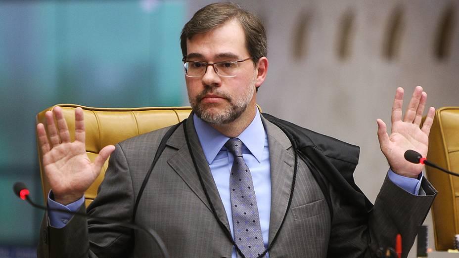José Antonio Dias Toffoli durante julgamento do mensalão, em 13/09/2012