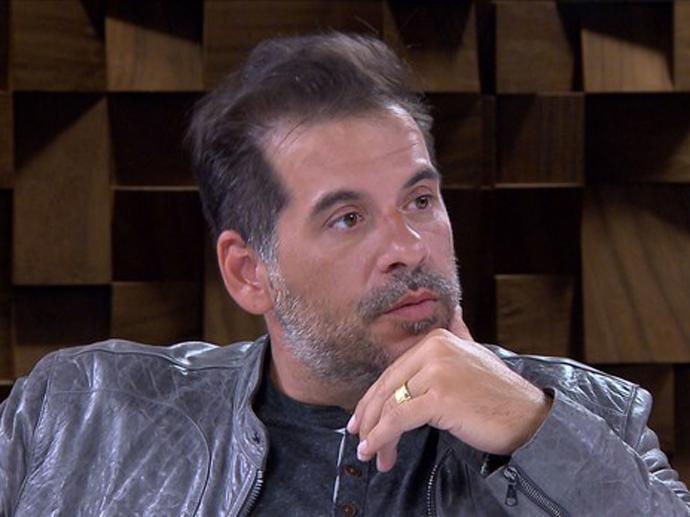 Leandro Hassum fala sobre a relação com o pai a Marília Gabriela