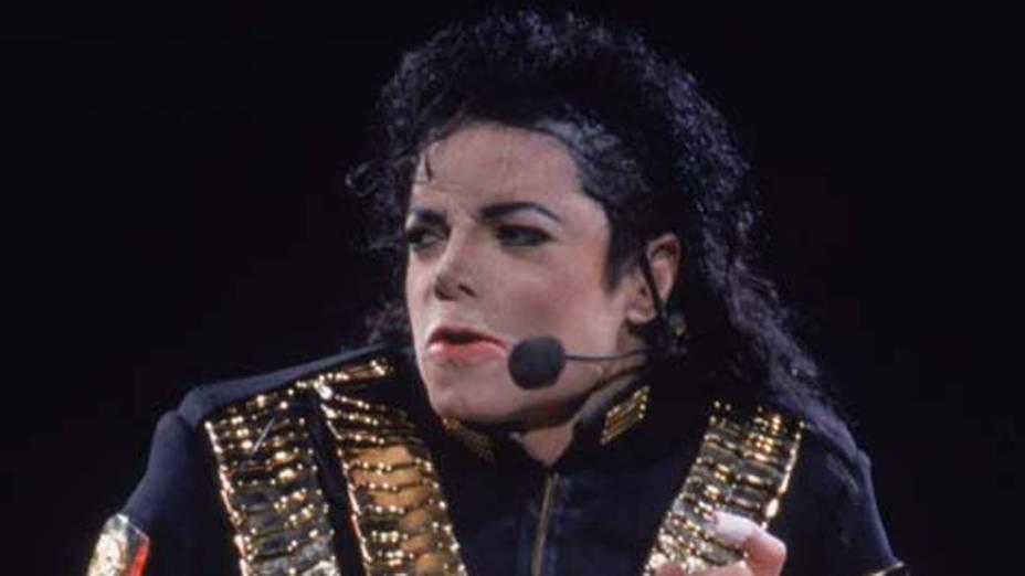 Michael Jackson em show no Morumbi, São Paulo