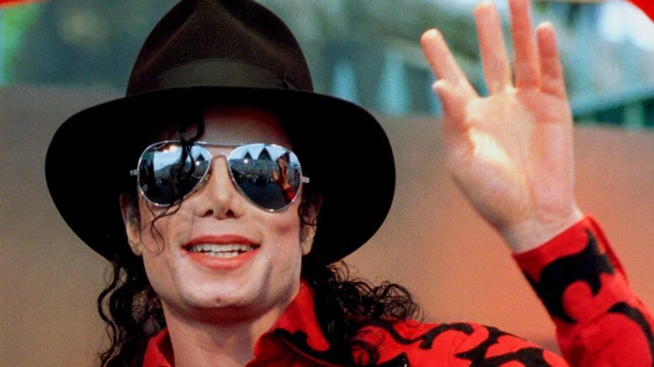 Michael Jackson em 1996