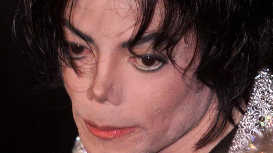 Michael Jackson no Madison Square Garden, em Nova York